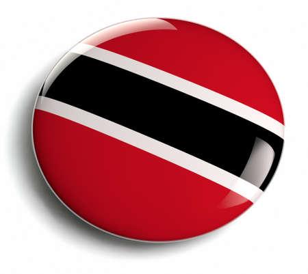 trinidadian: Trinidad and Tobago flag round design