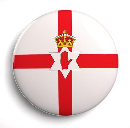 northern ireland: Ulster flag - former flag of Northern Ireland