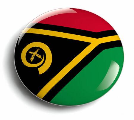 Vanuatu national flag design badge.