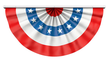 Bunting for July 4th or any American celebration