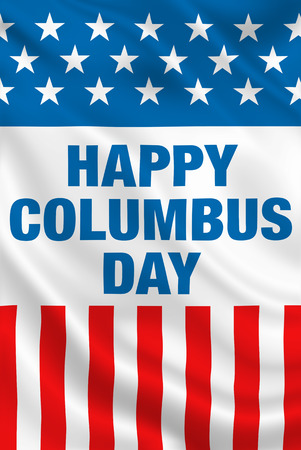 Columbus Day USA Banque d'images