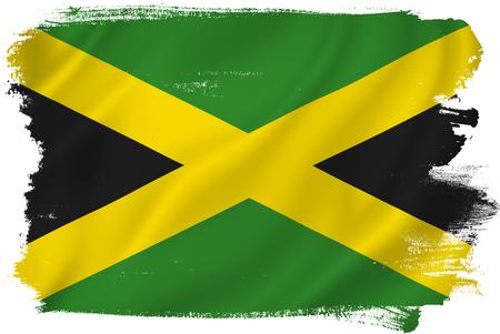 jamaican flag: Jamaica flag