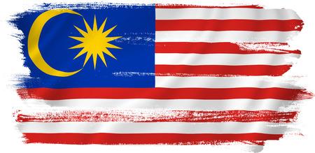 말레이시아 깃발 스톡 콘텐츠