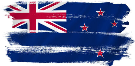 New Zealand flag backdrop background texture. photo