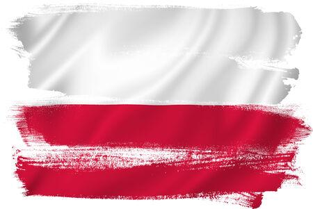 polish flag: Poland flag backdrop background texture.