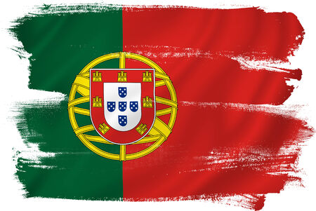 drapeau portugal: Portugal drapeau toile de fond texture de fond.