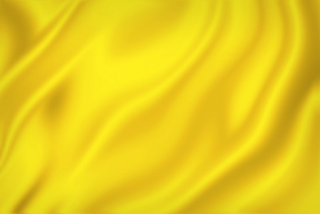 Yellow silk cloth background texture.