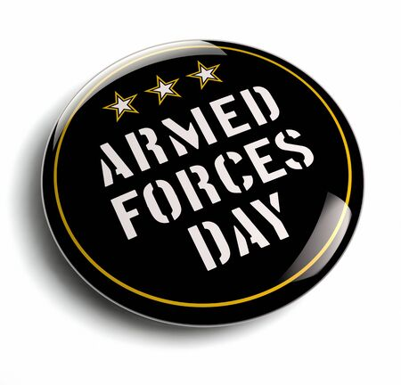 armed forces: American Armed Forces Day USA isolated image.