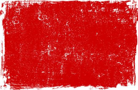 赤いグランジ背景テクスチャ。ベクトル形式が利用可能です。  イラスト・ベクター素材