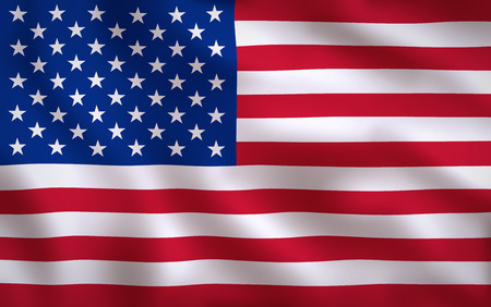 USA American Flag Waving Background Texture