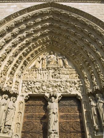Majestic Notre Dame Stock Photo - 4201263
