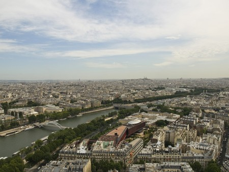 Paris from the Eiffel Tower Stock Photo - 4190876