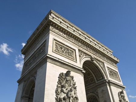 High angle view of one of the most popular monuments in France Stock Photo - 4190881