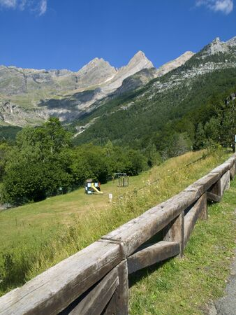 ordesa: Parkland in the awesome Ordesa National Park