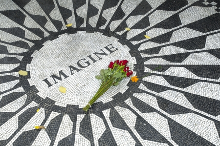 The Central Park Lennon Memorial, New York