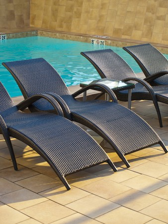 lounger: Swimming Pool Sun Lounger