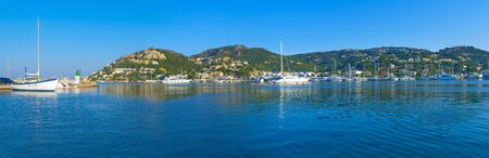 Andratx harbor, Majorca, Spain Stock Photo