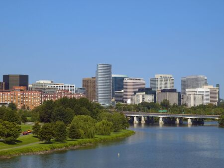 Rosslyn District in Washington DC