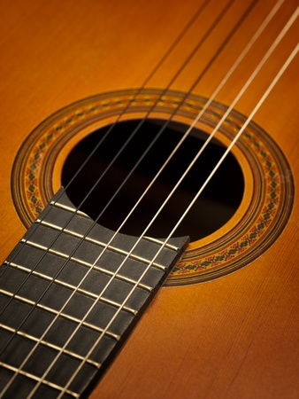 Spanish Guitar Background photo