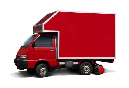 Red Mini Van  photo
