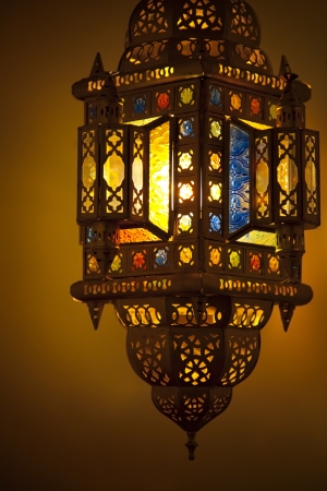 Moroccan Lantern Stock Photo - 10085281