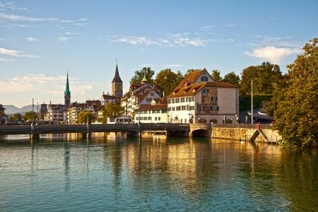 Limmat River, Zurich photo