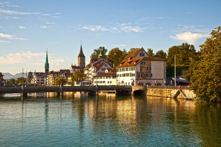 zurich: Limmat River, Zurich