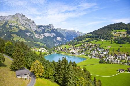 Engelberg village in Switzerland
