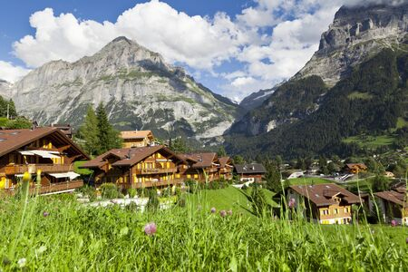 Grindelwald Village, Switzerland photo