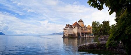 chillon: Chateau de Chillon, Switzerland