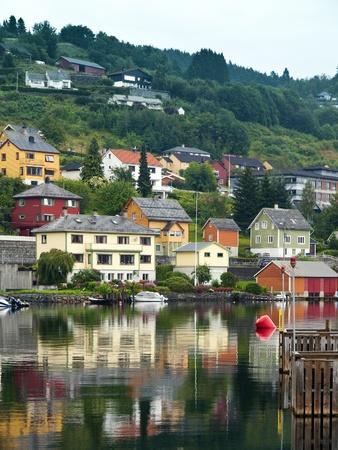 Nordheimsund Harbor, Norway