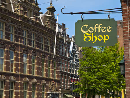 Cofee Shop in Amsterdam photo