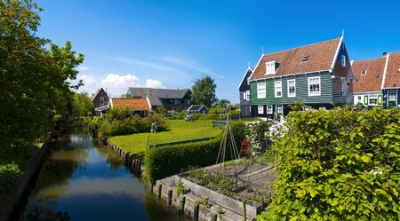 Marken is a peninsula in the IJsselmeer, the Netherlands, located in the municipality Waterland in the province North Holland  It is a former island, which nowadays is connected to the North Holland mainland by a causeway   photo