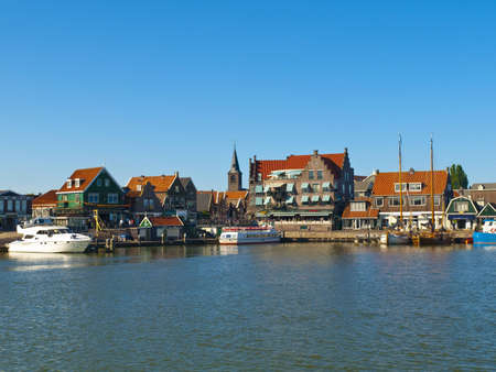 volendam: Volendam is a popular tourist attraction in the Netherlands, well-known for its old fishing boats and the traditional clothing still worn by some residents  The women