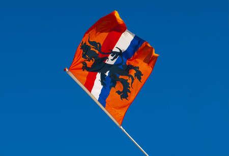 drapeau hollande: D'Orange Pays-Bas Drapeau Banque d'images