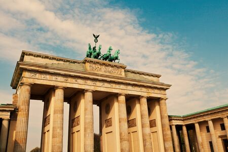 Brandenburg Gate, Berlin Stock Photo - 13547681