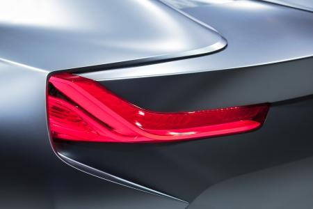 Futuristic Car Detail photo