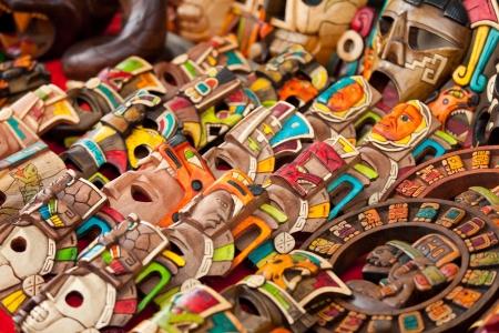 Mayan Wood Souvenirs