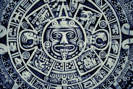 calendar background: Mayan Calendar Background