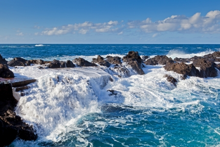 El Caleton  Natural Pools in Garachico, Tenerife, Spain photo