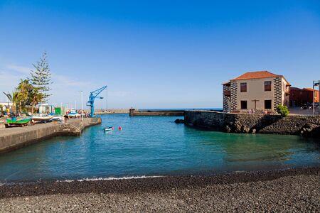 Fishing Port in Puerto de la Cruz, Tenerife, Spain