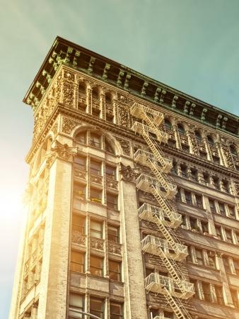Classic Style Architecture in Manhattan photo