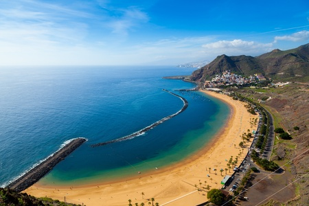 San Andres Village and Las Teresitas Beach, Tenerife