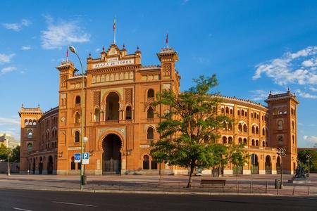 las ventas: Las Ventas Bullring in Madrid, Spain Stock Photo