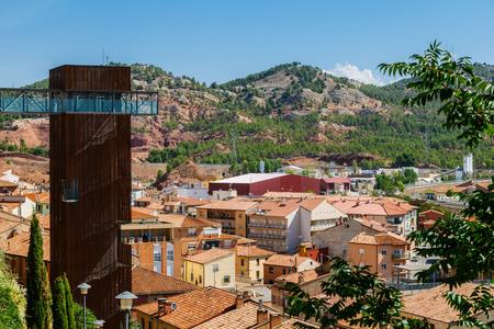 gazer: Viewpoint over Teruel Old Town, Aragon, Spain