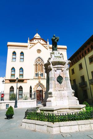 corazon: Sagrado Corazon de Jesus Residence in Teruel, Aragon, Spain Editorial