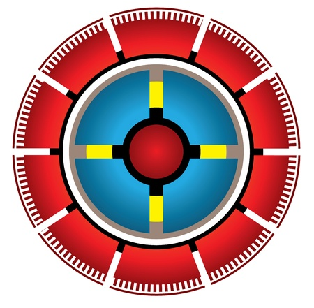 silver boder: Circle pie