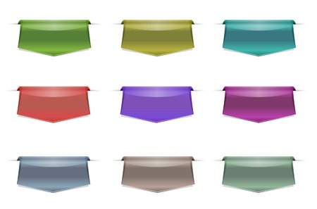 silver boder: tab modern color