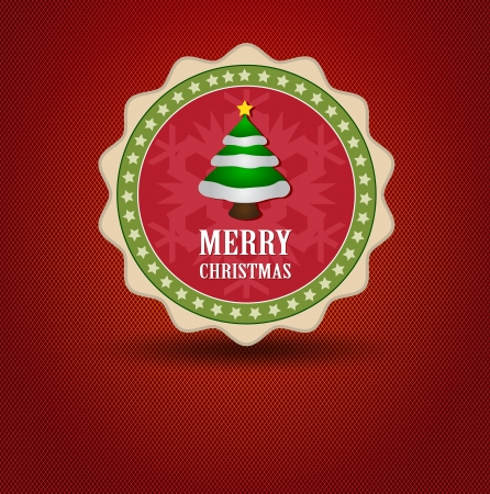 silver boder: Christmas tag