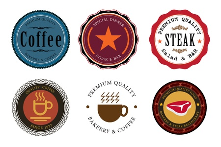 silver boder: tag classic coffee steak star